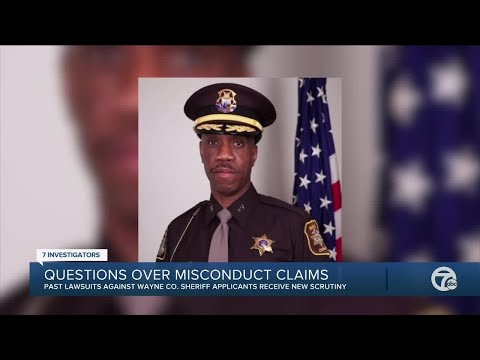 Misconduct claims against Wayne County Sheriff candidates receive new scrutiny