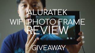 """Is the Aluratek 10"""" WIFI Digital Frame Worth It?"""