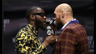 Deontay Wilder vs Tyson Fury - All of the Trash Talk (CRAZY PRESS CONFERENCES & TOUR HIGHLIGHTS)