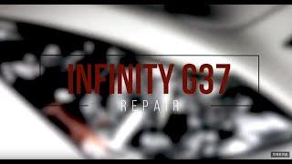 INFINITI Big dent repair