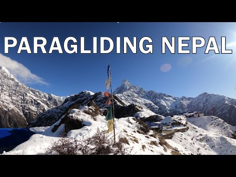 Two week paragliding adventure in Nepal