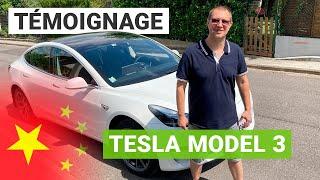 La Tesla Model 3 made in China mieux que l'américaine ?