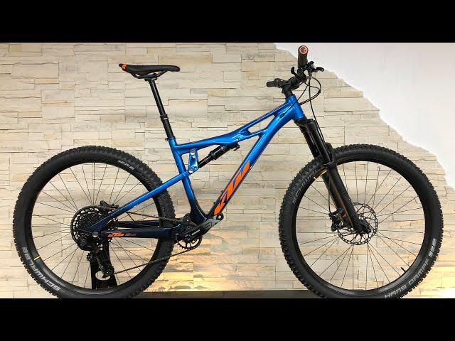 Видео Велосипед KTM Prowler 292 faded blue (orange)