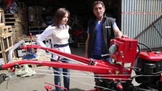 Мотоблок дизельный Forte HSD1G-101 PLUS от компании ПКФ «Электромотор» - видео 2