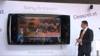 Sony Ericsson Türkiye Xperia Arc lansmanı DonanimHaber.com Röportajı