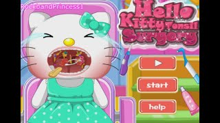 Hello Kitty Surgery Games