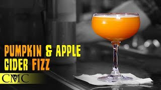 How To Make The Pumpkin & Apple Cider Fizz 🦃  Thanksgiving Cocktail