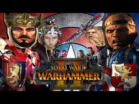Empire vs Bretonnia | GOOD GUY BATTLE - Total War Warhammer 2