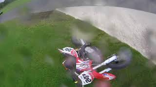 National Pitbike Series Round 3 Crash