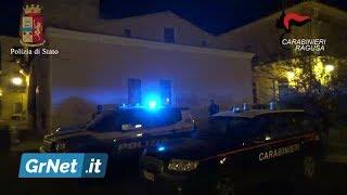 """Mafia: maxi-blitz nel ragusano contro la """"Stidda"""". 102 poliziotti e 60 carabinieri in azione"""