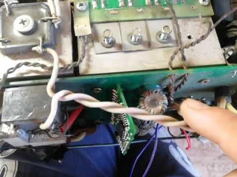Ремонт Торус 200 замена транзисторов, драйверов
