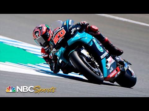 MotoGP: Fabio Quartararo clocks new all-time lap record in Jerez   Motorsports on NBC