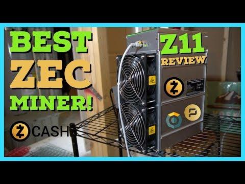 Best Zcash Miner - Bitmain Antminer Z11 Review | Setup | Profitability | Equihash Mining