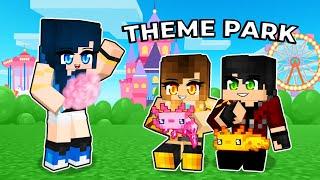 Creating a AXOLOTL Theme Park in Minecraft!