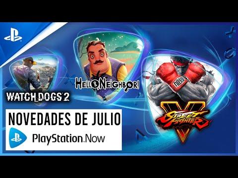 Watch Dogs 2, Street Fighter V y Hello Neighbor se unen a PS Now en julio