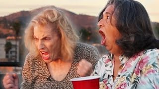 Grandmas Play Flip Cup For The First Time thumbnail