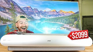 Unboxing A $2099 4K Laser Projector!