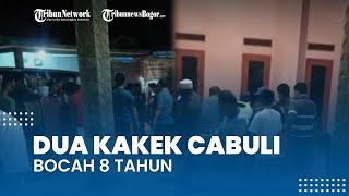 Dua Kakek di Bogor Diduga Cabuli Bocah 8 Tahun, Warga yang Tak Mampu Tahan Emosi Geruduk Pelaku
