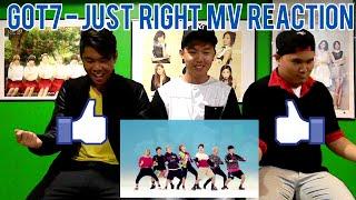 GOT7   딱 좋아(JUST RIGHT) MV REACTION (FUNNY FANBOYS)