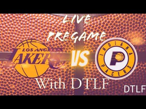 Lakers vs Pacers Live Pregame!