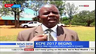 Kisii county Director of education affirms great confidence in the candidates doing KCPE exams