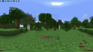 Выживаю в Minecraft 360°