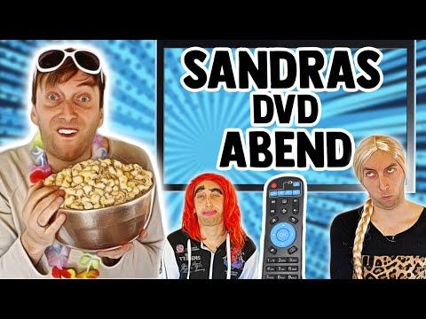 Sandra macht einen DVD Abend mit Lexa und Trisha📺   Freshtorge