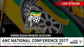 54TH ANC National Elective Conference opening session, 16 December 2017