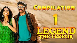 Legend The Terror | Hindi Dubbed | Compilation 1 | Nandamuri Balakrishna | Radhika Apte