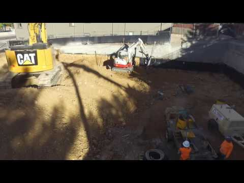 Shotcrete Soil Nail Wall
