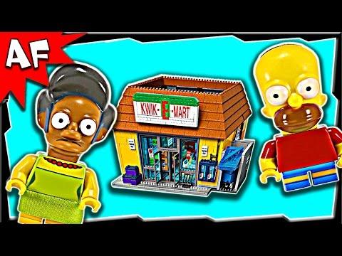 Vidéo LEGO Simpsons 71016 : Kwik-E-Mart