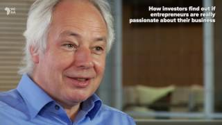 How investors find out if entrepreneurs are really passionate about their business