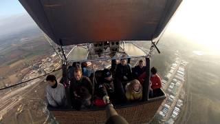 preview picture of video 'Viajes en globo: Aranjuez 15-3-2015'