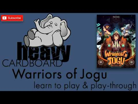 Warriors of Jogu 2p Play-through, Teaching, & Roundtable discussion by Heavy Cardboard
