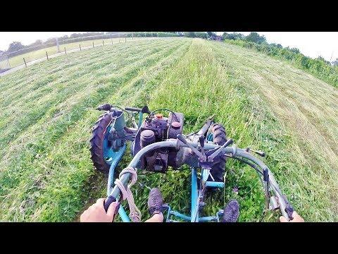 "Let's Drive | Motofalciatrice NIBBI ""Figaro E"" 12 hp Lombardini Engine | Grass Cutting"