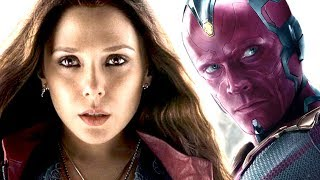 The Weird Truth About Scarlet Witch And Vision's Relationship