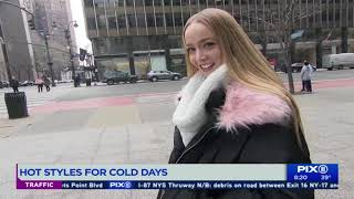 Featured On Pix 11 { Cold Days Style)
