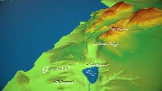 Mountain of Transfiguration Location