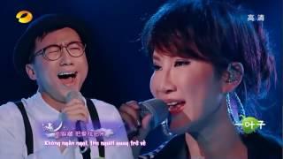 [Vietsub] Nguyệt Quang Ái Nhân - CoCo Lee & Zhang Zhi  - 月光愛人