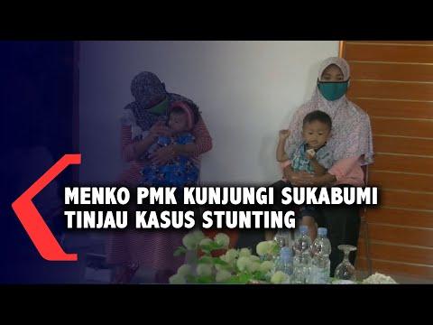 Menko Pmk Kunjungi Sukabumi Tinjau Kasus Stunting