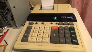 BitBastelei #282 - Soennecken 1232 Tischrechner mit Drucker