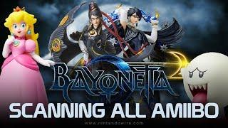 Bayonetta 2 | Unlocking All amiibo Costumes and Weapons (Nintendo Switch)