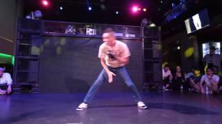 YUKI(O.G.S) JUDGE DEMO Beat Around vol.18 慶應大 ダンスサークル Revolveイベント