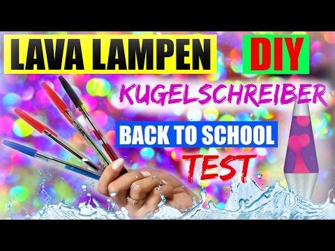 DIY TEST | LAVA LAMPE KUGELSCHREIBER | Back to School | SofiaBeautyCafe