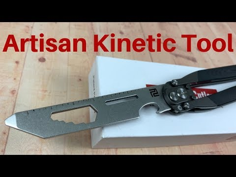 Artisan Cutlery Kinetic Tool   Crazy Cool yet Practical