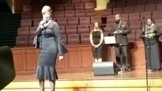Dorinda.Clark Cole sings hit God Bless This House