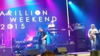 Marillion MWE 2015 Port Zelande: Martin Jakubsky  Assassing swap the band.