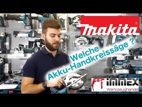 Welche Makita Akku-Handkreissäge aus dem 18V Programm soll ich kaufen?