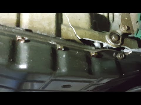 Nissan Armada `07 pt 1 automatic transmission RE5R05A remove