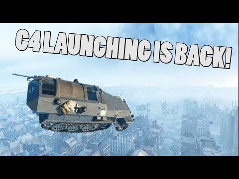 C4 LAUNCHING IS BACK! (Only in Battlefield V moments)